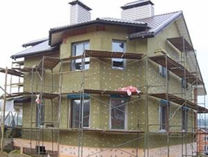 Фасад домов с отделкой камнем